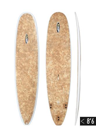 Surfboard Nsp Longboard 8 6 Coco Mat Wellenreiter