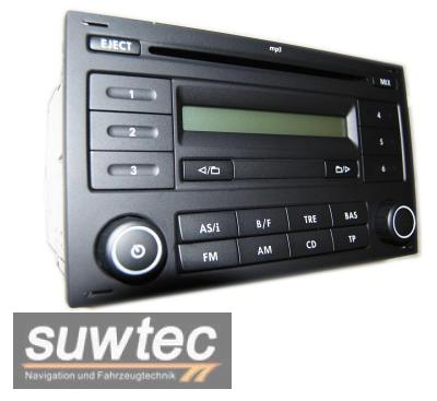 vw radio mp3 rcd 200 rcd200 cd car radio polo 9n lupo. Black Bedroom Furniture Sets. Home Design Ideas