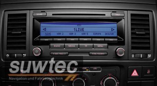 original vw radio cd mp3 rcd 310 rcd310 t5 multivan. Black Bedroom Furniture Sets. Home Design Ideas