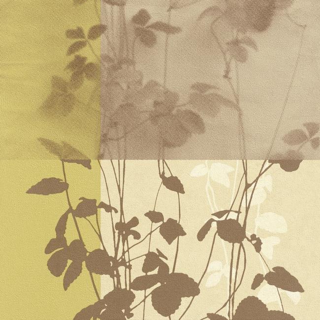 rasch tapeten all in one 787610 vlies neu floral blume gr n braun beige. Black Bedroom Furniture Sets. Home Design Ideas