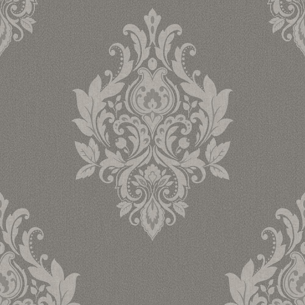 Tapeten Ornamente Barock : Tapeten Trendy Classics – TC 56301 Papier Neu Barock Ornamente Grau