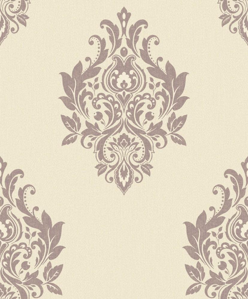 grandeco tapeten trendy classics tc 56374 papier neu barock ornament creme rosa ebay. Black Bedroom Furniture Sets. Home Design Ideas