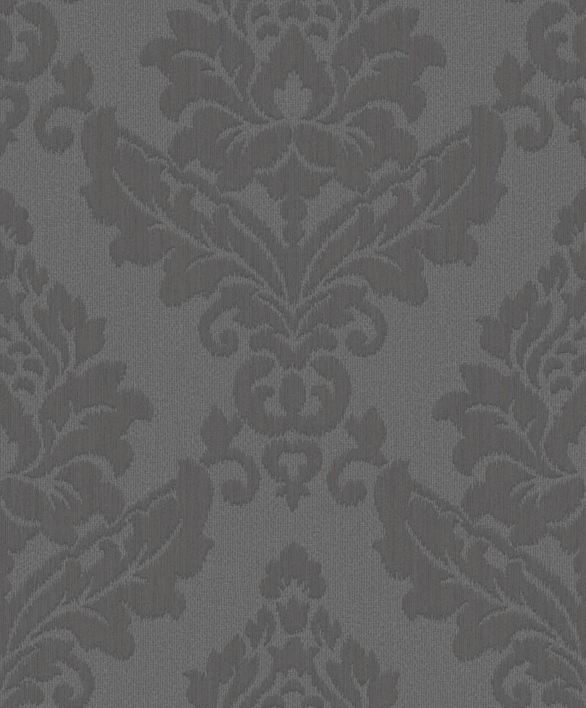 grandeco tapeten trendy classics tc 56606 papier neu barock ornamente anthrazit ebay. Black Bedroom Furniture Sets. Home Design Ideas