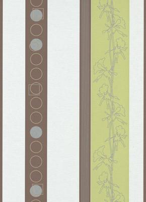 no limits 6764 07 tapeten streifen gestreift wei gr n braun silber vlies neu ebay. Black Bedroom Furniture Sets. Home Design Ideas