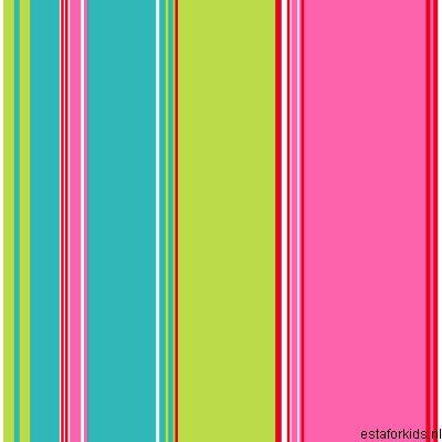 Belle-Rose-2014-115719-Rasch-Textil-Tapeten-Neu-Streifen-Tuerkis-Gruen-Pink