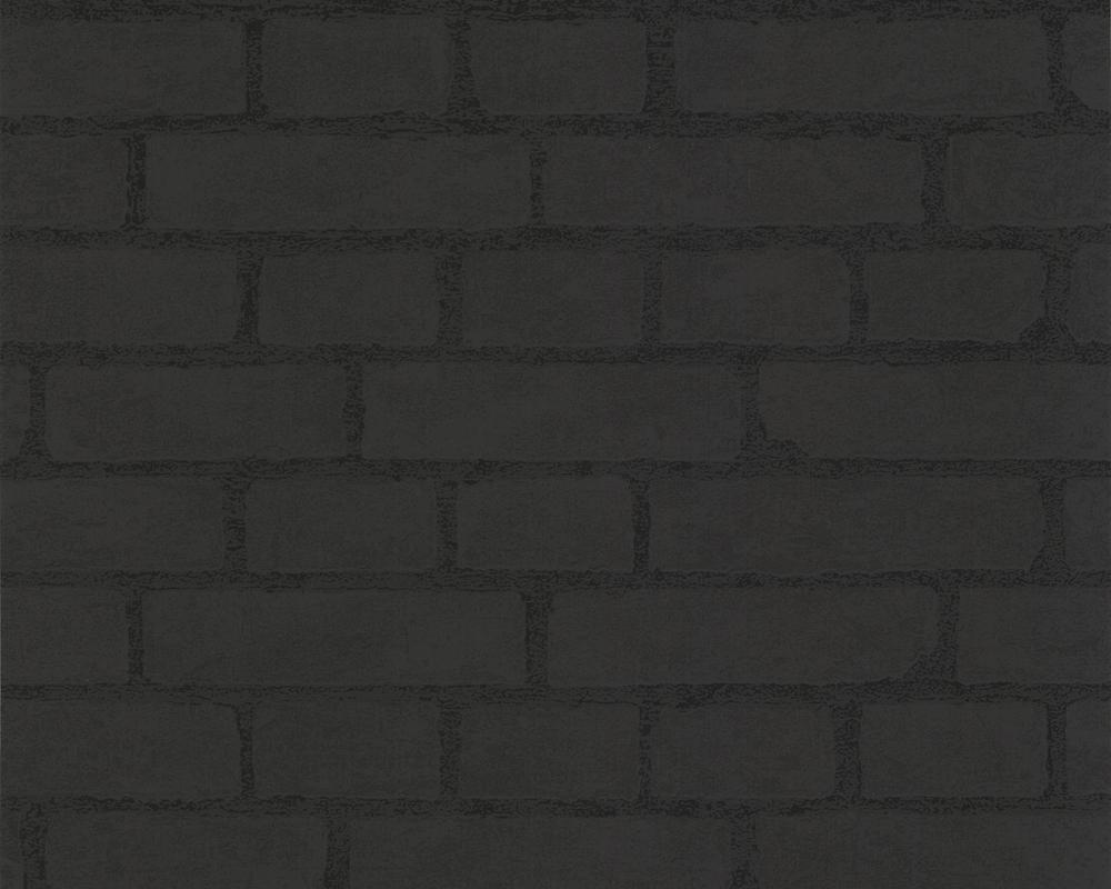life 2 2086 51 a s tapeten vlies stein mauer schwarz 1 77 m ebay. Black Bedroom Furniture Sets. Home Design Ideas
