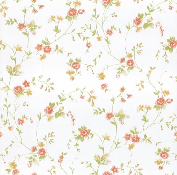 Tapeten Landhaus Floral Blumen Petite Fleur : Petite Fleur 2014 – 294674 Rasch Textil Tapeten Neu Floral Wei? Gr?n