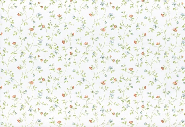 Tapeten Landhaus Floral Blumen Petite Fleur : Details zu Petite Fleur-294742 Tapeten Papier Neu Floral Blumen Wei?
