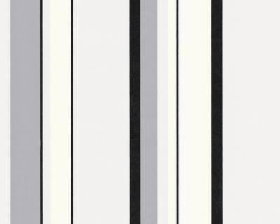 caroline 8337 30 a s tapeten streifen gestreift grau schwarz wei vlies neu ebay. Black Bedroom Furniture Sets. Home Design Ideas