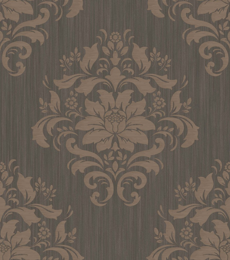 chambord 212077 grandeco tapete papier neu ornamente floral blumen braun beige ebay. Black Bedroom Furniture Sets. Home Design Ideas