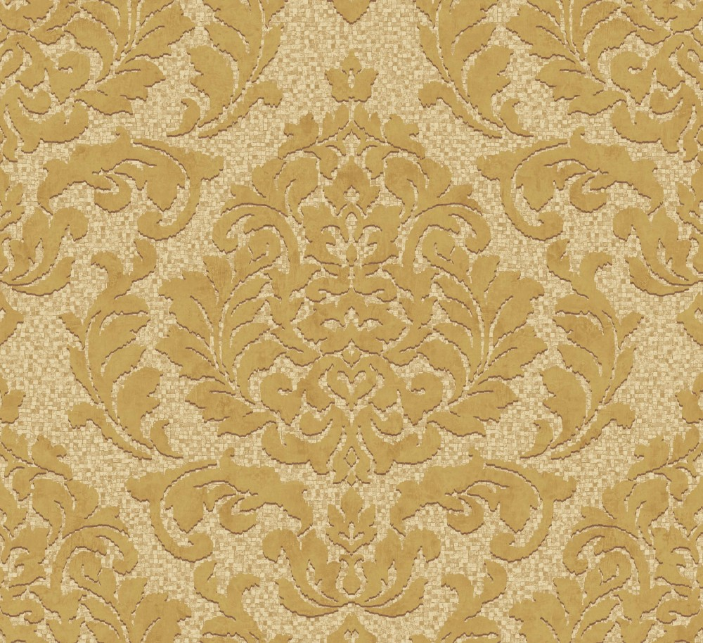 Palazzo 2015 pl 41108 tapete vlies ornamente gold bronze for Tapete gold muster