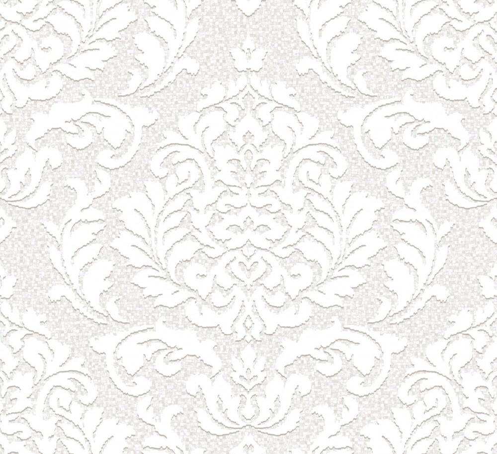 tapete ornamente grau tapete vlies ornamente grau wei as creation 32984 2 tapete barock. Black Bedroom Furniture Sets. Home Design Ideas