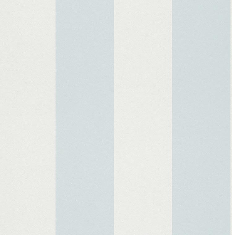 Tapete Hellblau Wei? Gestreift : 286656 Rasch Tapete Papier Neu Streifen gestreift Blau Hellblau Wei?