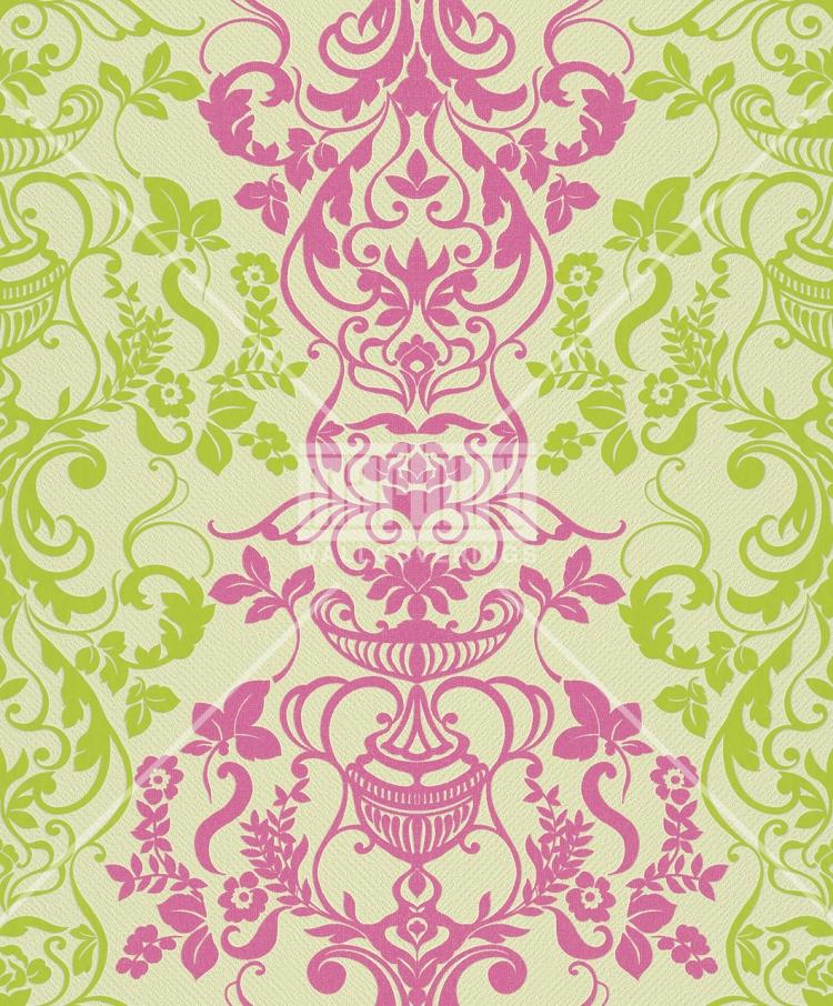 Tapetenmuster modern grün  Alice Whow! - 51830 Marburg Tapete Vlies Neu Ornamente Barock ...