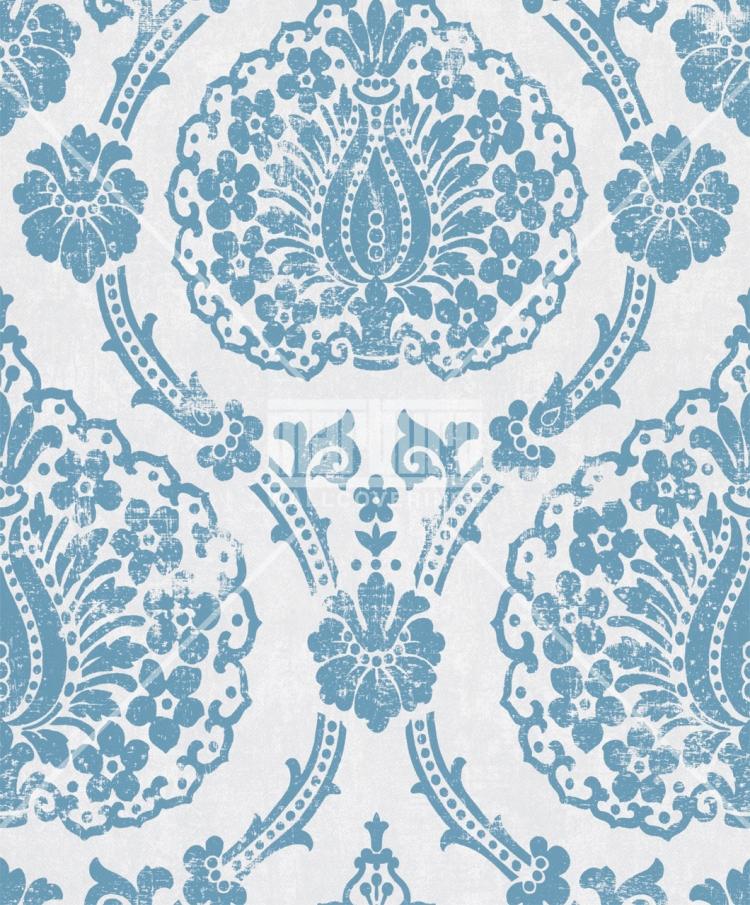 scandinavian vintage 51651 marburg tapeten vlies neu ornamente barock wei blau ebay. Black Bedroom Furniture Sets. Home Design Ideas