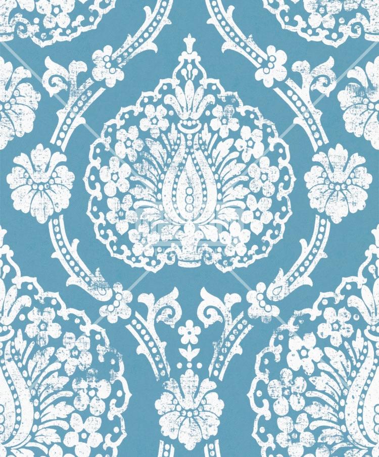 Scandinavian Vintage Tapete Marburg : Scandinavian Vintage 51652 Marburg Tapeten Vlies Neu Ornamente Barock