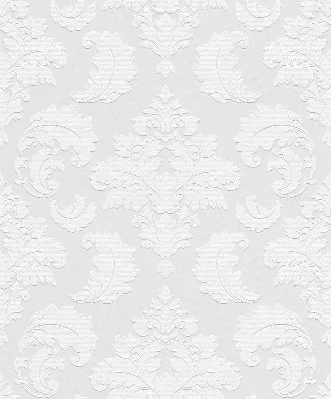 wallton 178906 tapeten vlies neu berstreichbar wei. Black Bedroom Furniture Sets. Home Design Ideas