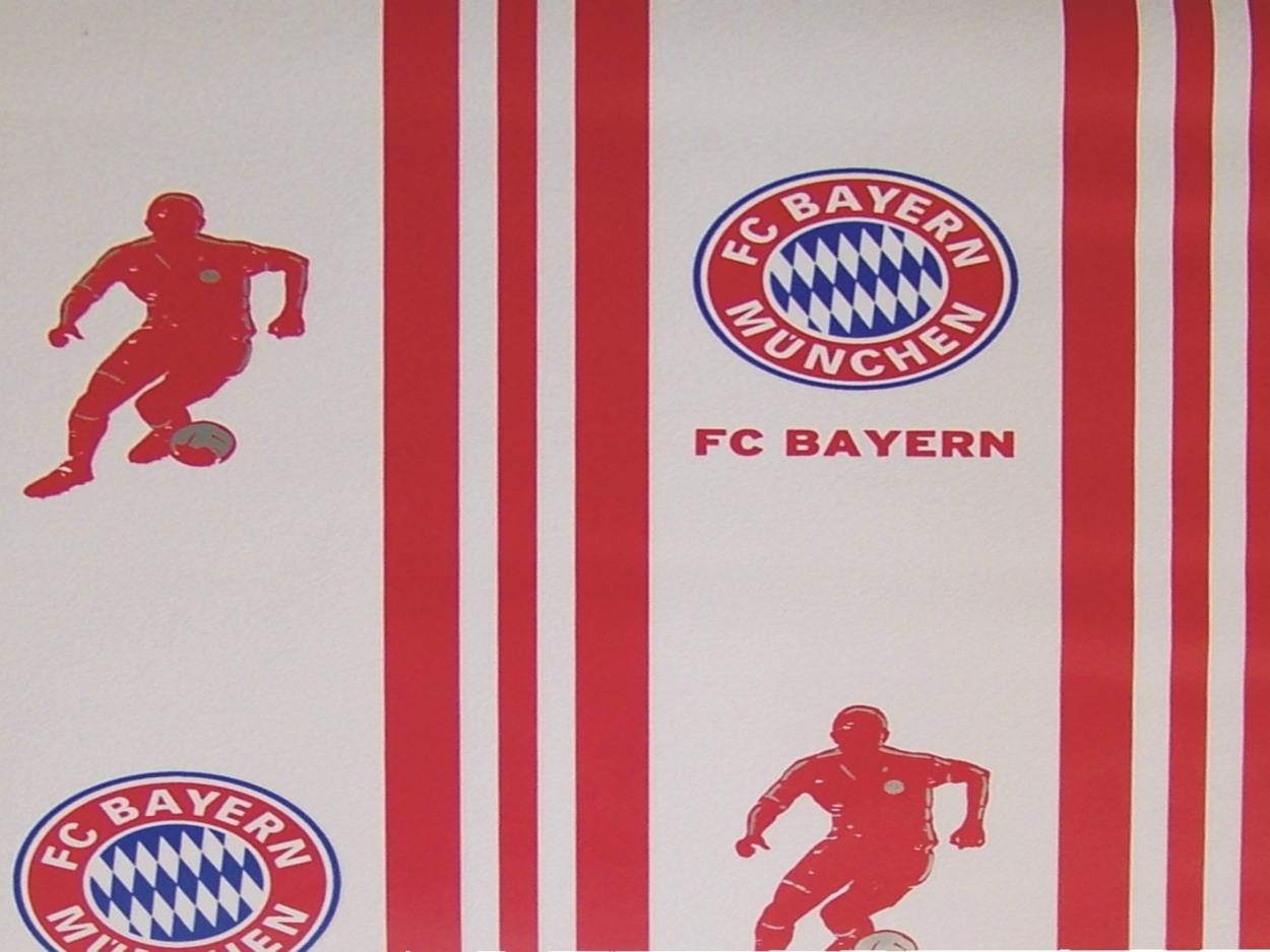 fc bayern m nchen stern des s dens arena rekordmeister tapete panel digitaldruck ebay. Black Bedroom Furniture Sets. Home Design Ideas
