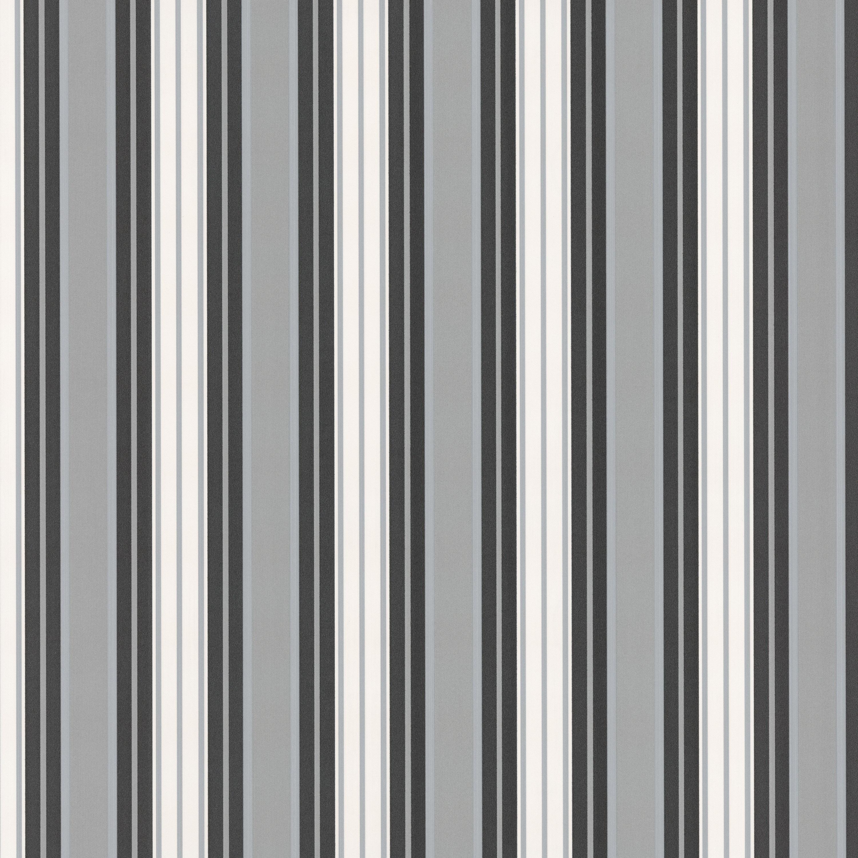Tapete Weiss Grau Gestreift : 42039-20 Tapete Vlies Neu Streifen gestreift Schwarz Wei? Grau eBay