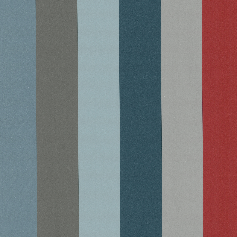 graffiti 05701 20 papier tapeten neu streifen gestreift gr n grau rot ebay. Black Bedroom Furniture Sets. Home Design Ideas