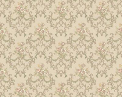 chateau ii 6481 36 barock ornament tapete blumen beige ebay. Black Bedroom Furniture Sets. Home Design Ideas