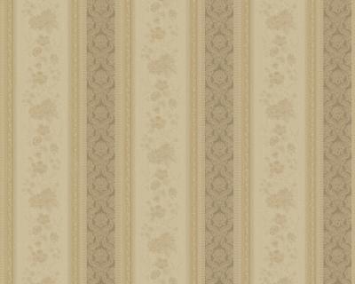 Chateau ii 7328 11 klassik barock tapete streifen beige - Tapete streifen beige ...