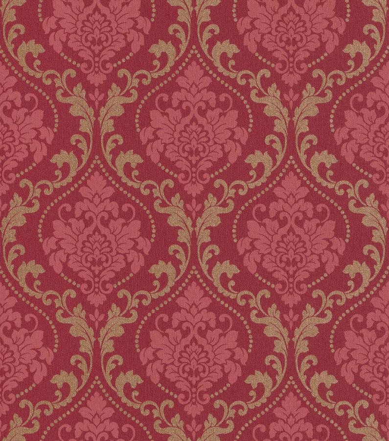gentle elegance 725650 rasch tapete vlies barock rot gold 2 24 m ebay. Black Bedroom Furniture Sets. Home Design Ideas