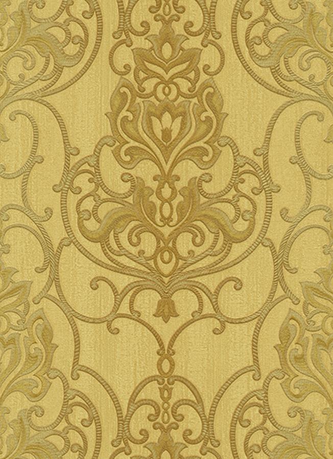 Rubina 5795 30 erismann tapete vlies barock ornamente for Tapete gold braun