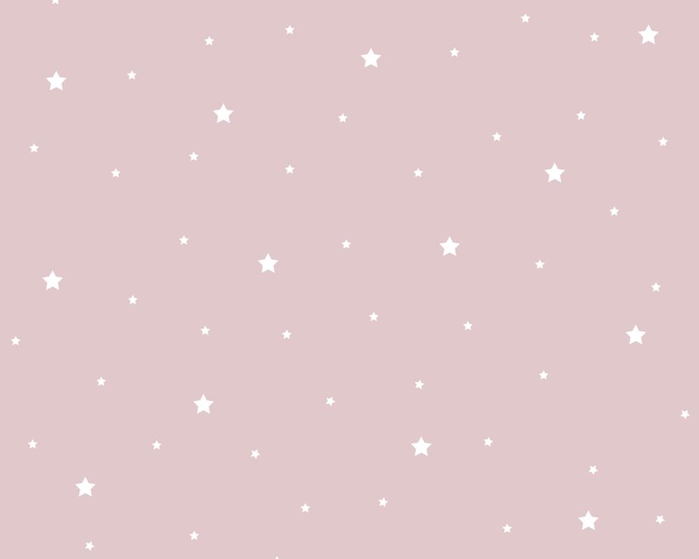 Tapete kinderzimmer sterne  6730-15 Kinder Kinderzimmer Tapete Lila Violett Sterne | eBay
