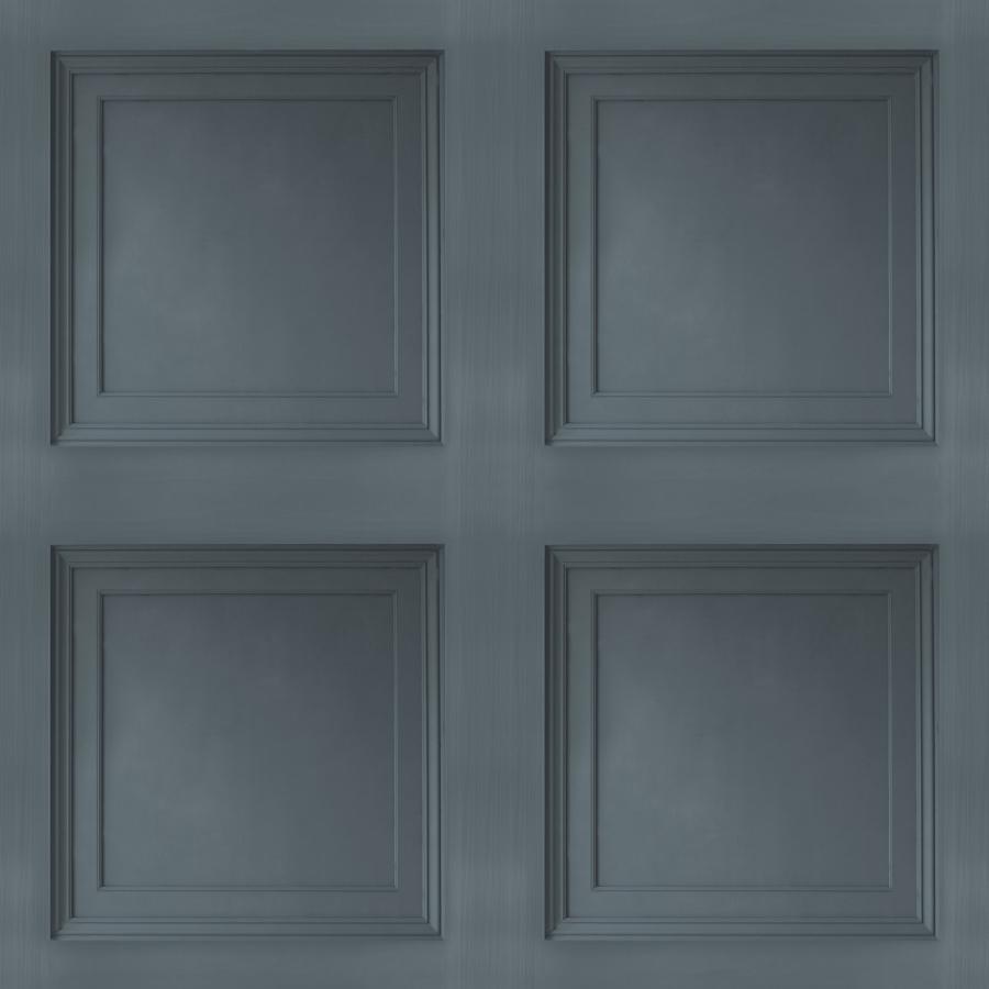 splendour sd 3205 tapete vlies grau blau 3d kassetten. Black Bedroom Furniture Sets. Home Design Ideas