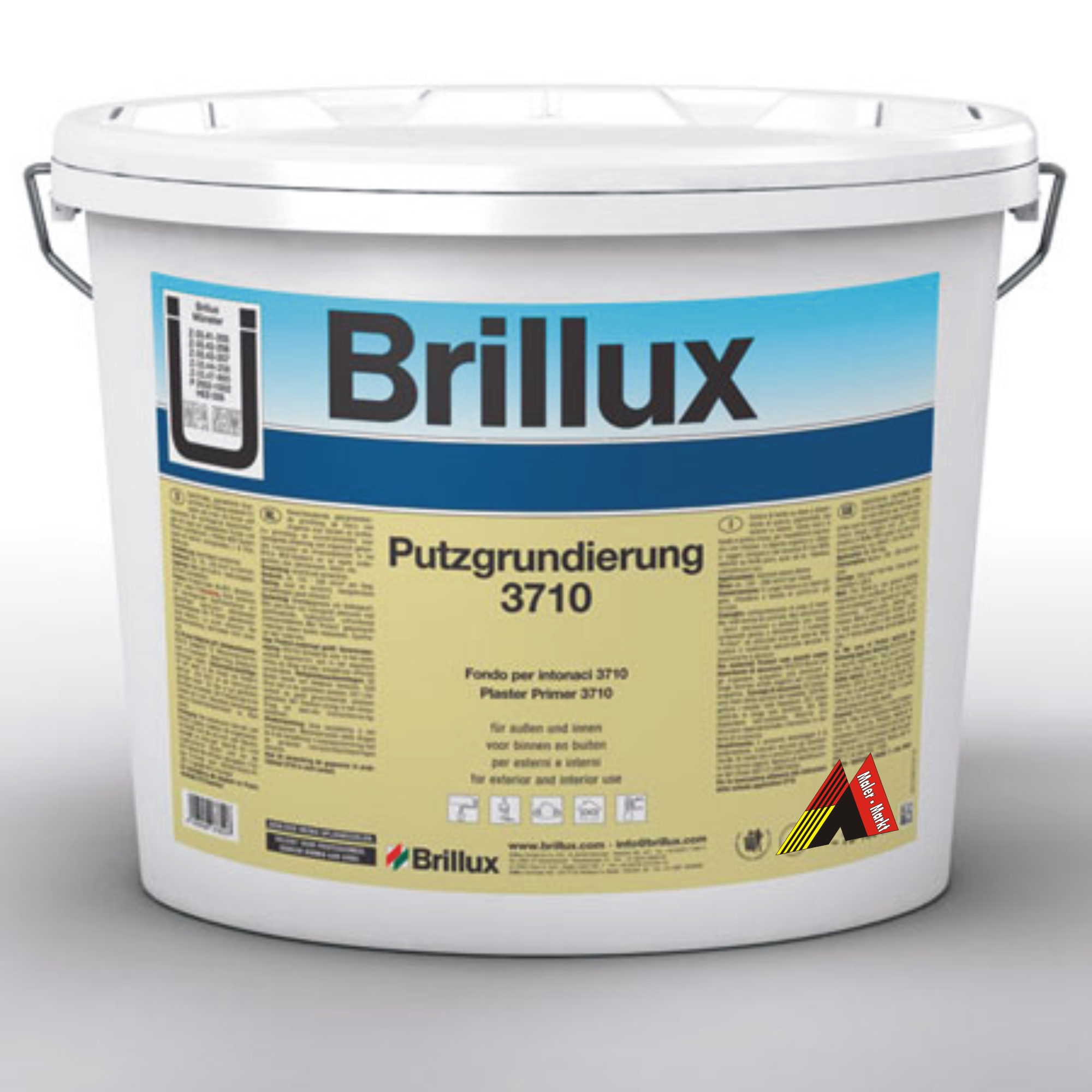 brillux putzgrundierung 3710 15 liter euro pro liter grundierung farbe ebay. Black Bedroom Furniture Sets. Home Design Ideas
