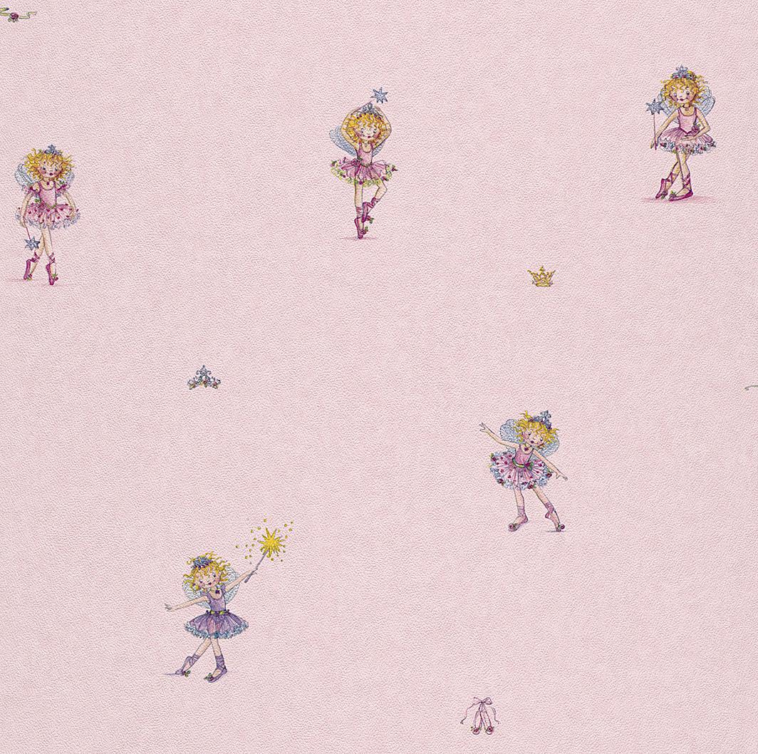 rasch tapete bambino 144819 lillifee kindertapete neu ebay. Black Bedroom Furniture Sets. Home Design Ideas