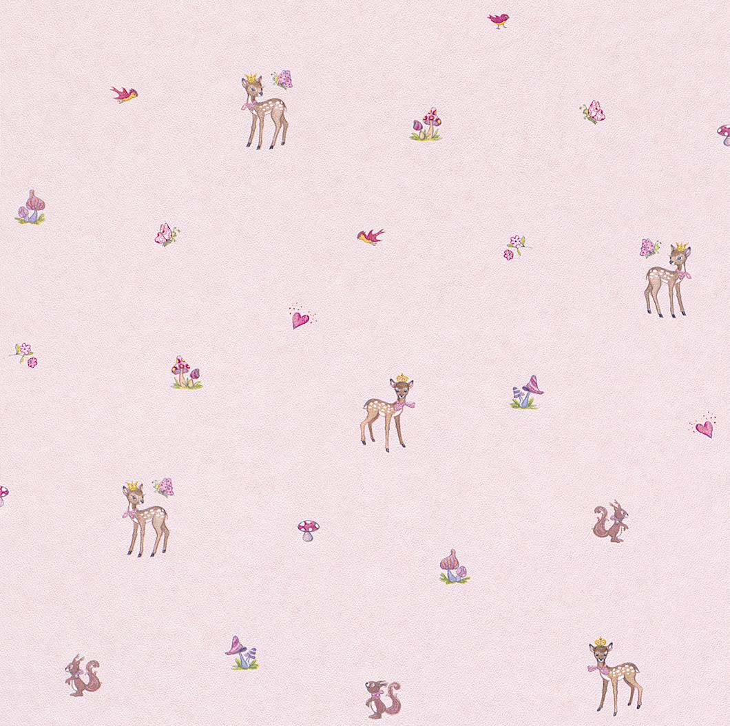 rasch tapete bambino 120707 lillifee kindertapete neu. Black Bedroom Furniture Sets. Home Design Ideas