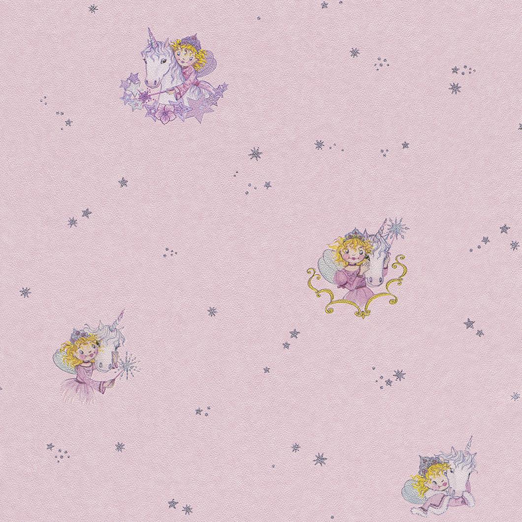 rasch tapete bambino 147414 lillifee kindertapete neu ebay. Black Bedroom Furniture Sets. Home Design Ideas