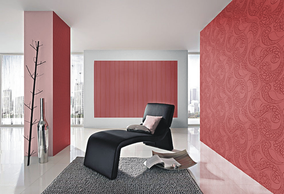 barbara becker 2014 768602 rasch tapeten vlies neu uni. Black Bedroom Furniture Sets. Home Design Ideas