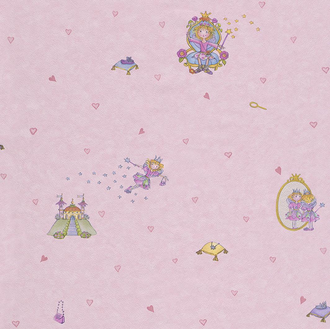 rasch tapete bambino 155938 lillifee kindertapete neu ebay. Black Bedroom Furniture Sets. Home Design Ideas