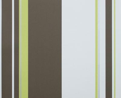 new home 6682 11 tapete vlies streifen gr n braun ebay. Black Bedroom Furniture Sets. Home Design Ideas