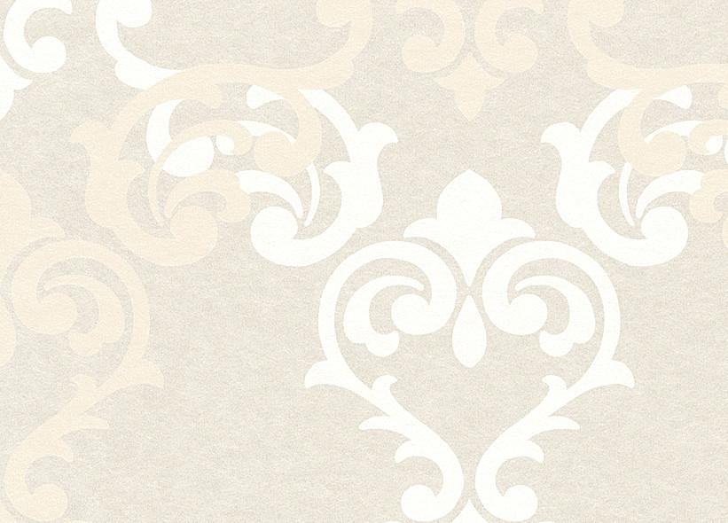 Rasch Tapeten Vanity Fair : Rasch – Vanity Fair – 785579 Tapete Barock Ornamente Creme Beige Vlies