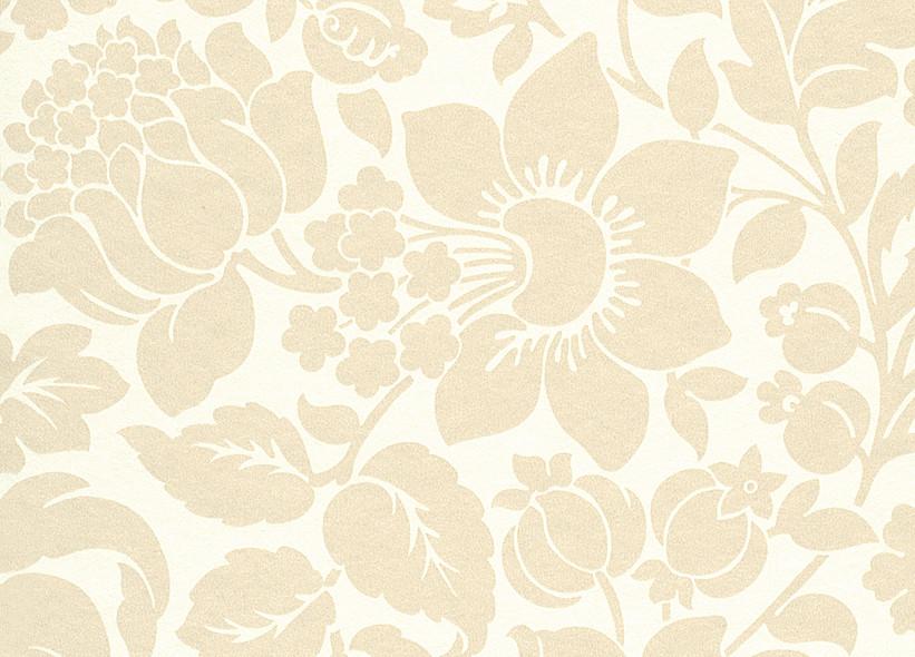 Tapete weiß beige  Rasch Vanity Fair 2013 - 785869 Tapete Floral Blume Beige Weiß ...