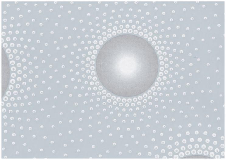 Muster Tapete Um Fenster Kleben : Rasch Tapete Queens – 795400 Retro Modern Art grau silber Vlies (1,34