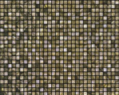 A.S. Wallness 2013 - 8263-67 Tapete Mosaik Küche Bad Braun Grün ...