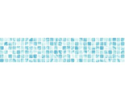a s tapete wallness 8264 28 borduere mosaik kueche bad tuerkis blau vlies 3 65 m. Black Bedroom Furniture Sets. Home Design Ideas