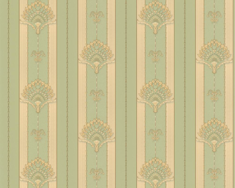a s tapete hermitage 8 8925 22 tapeten barock ornamente streifen neu satin ebay. Black Bedroom Furniture Sets. Home Design Ideas