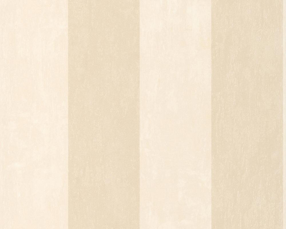 Muster Tapete Um Fenster Kleben : zu A.S. Zanzibar 2013 – 8879-31 Tapete Streifen Creme Beige Vlies Neu