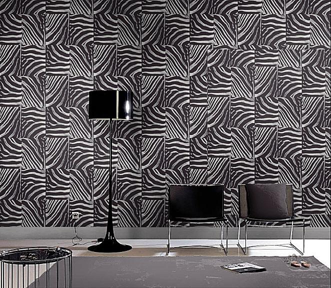Rasch tapete out of africa 715316 zebra afrika vlies ebay for Zebra tapete