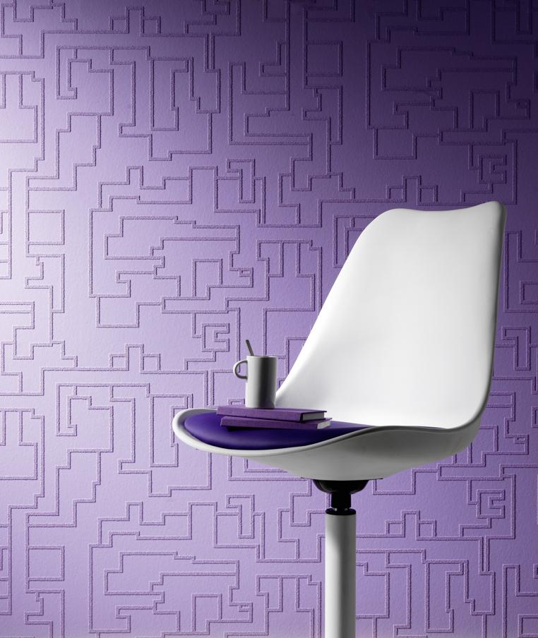 erismann rollover vision 4006 01 tapete zum berstreichen vlies neu wei muster. Black Bedroom Furniture Sets. Home Design Ideas