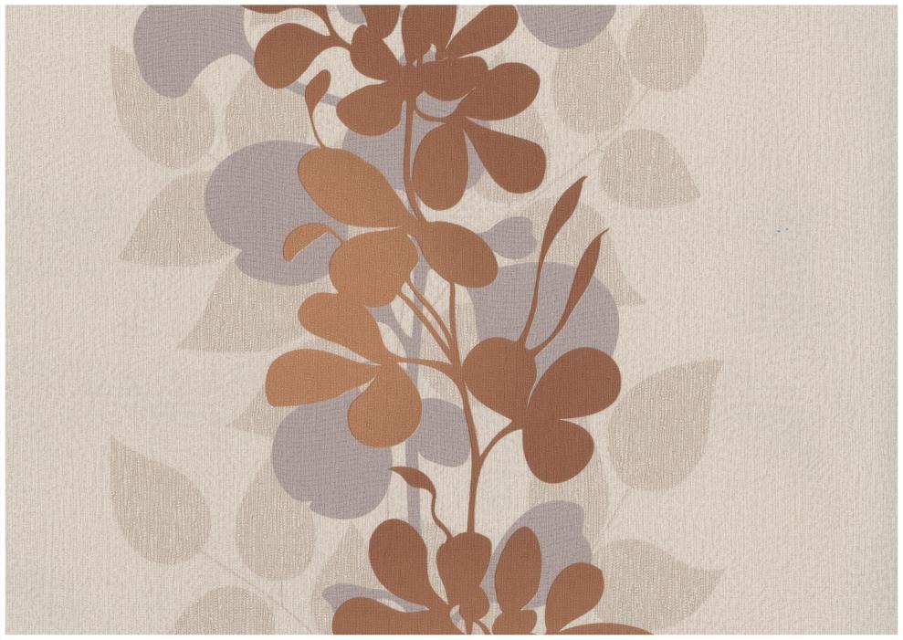 Rasch tapete seduction 2014 796643 vlies neu floral for Tapete beige braun
