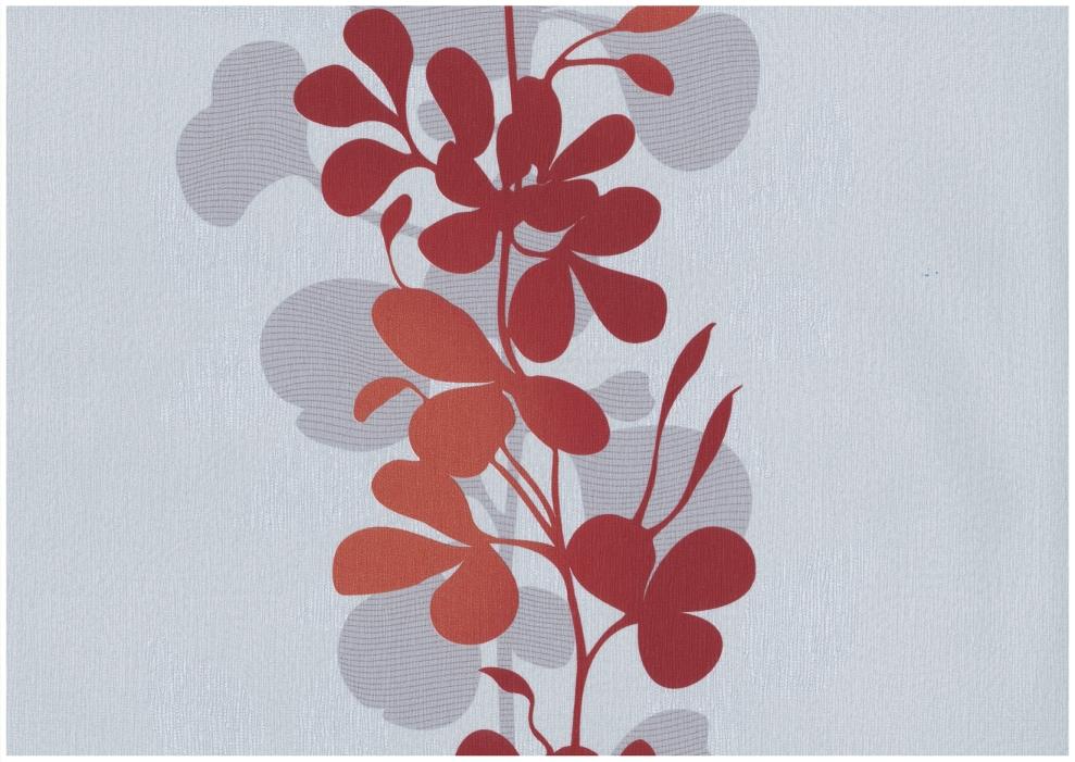 rasch tapete seduction 2014 796629 vlies neu floral blume grau orange rot ebay. Black Bedroom Furniture Sets. Home Design Ideas