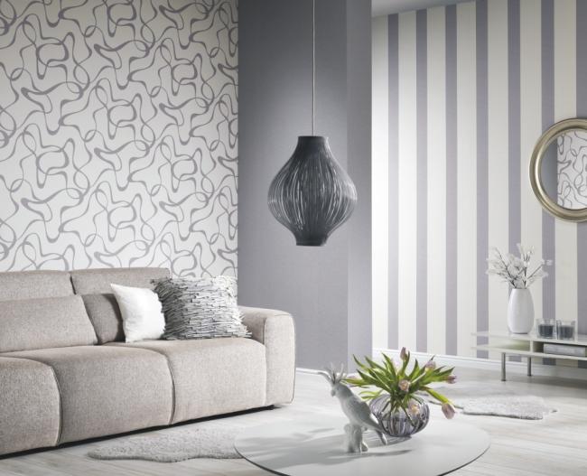 p s tapeten belcanto 13500 80 vlies neu streifen. Black Bedroom Furniture Sets. Home Design Ideas
