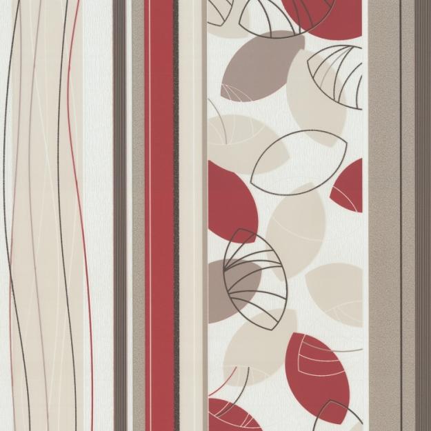 P+S Tapeten Belcanto 13504-20 Vlies Neu Streifen Gestreift Blume
